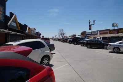 Wall - Wall Drug - our lunch stop Main Street