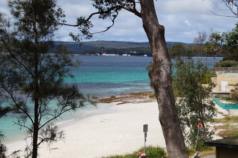 Beautiful Hyams Beach -whitest sand beach in the world according to Guiness Book of Records