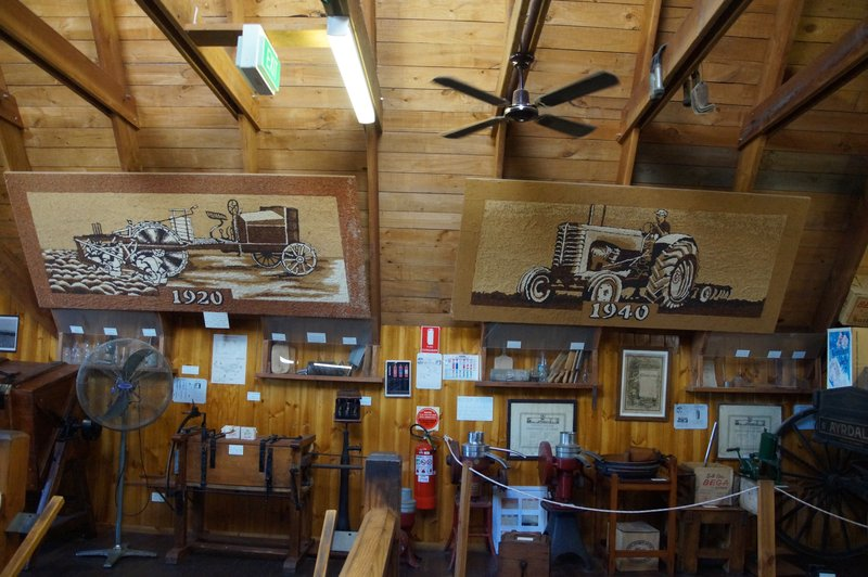 Inside the Bega Cheese Factory Museum