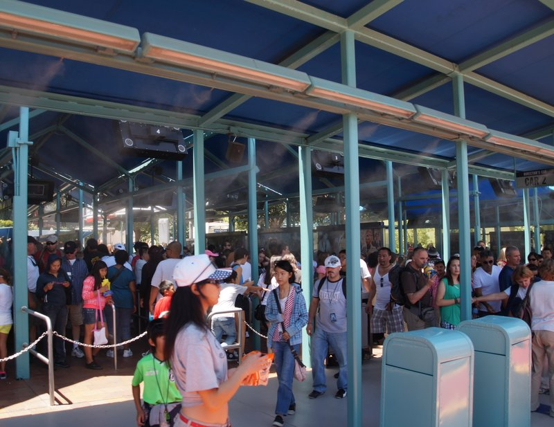 Line up to Studio tour