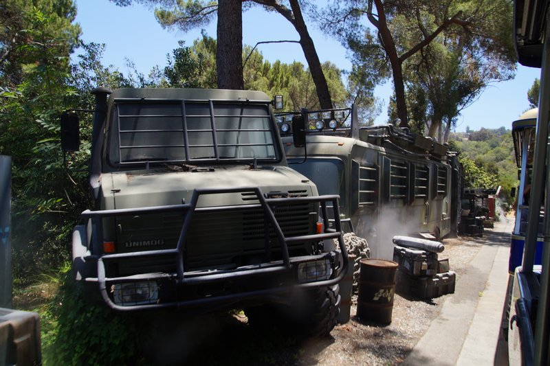 Vehicles from Jurassic Park