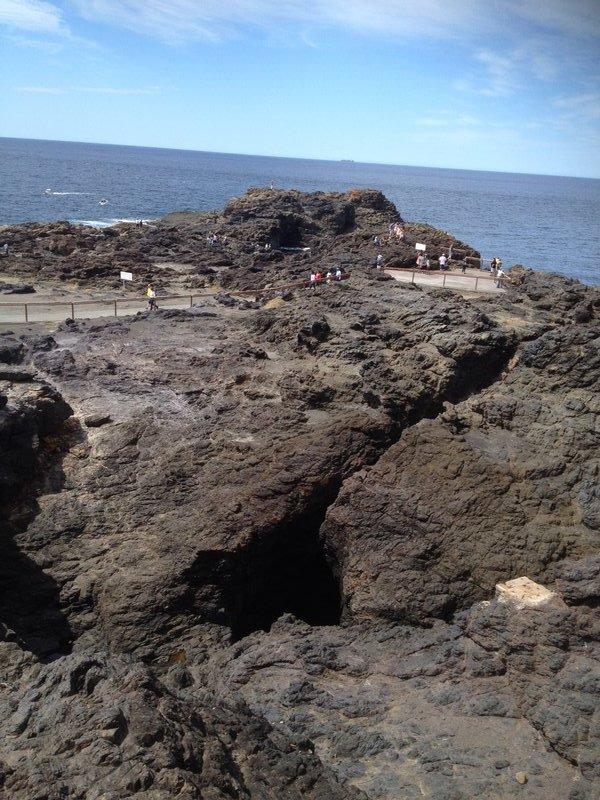 The Blow Hole at Kiama