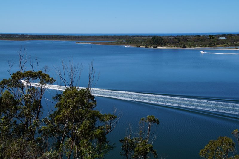 Boats on King Lake