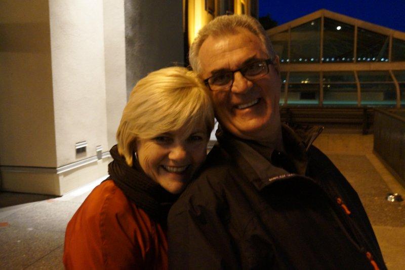Deb and Greg at the Delta