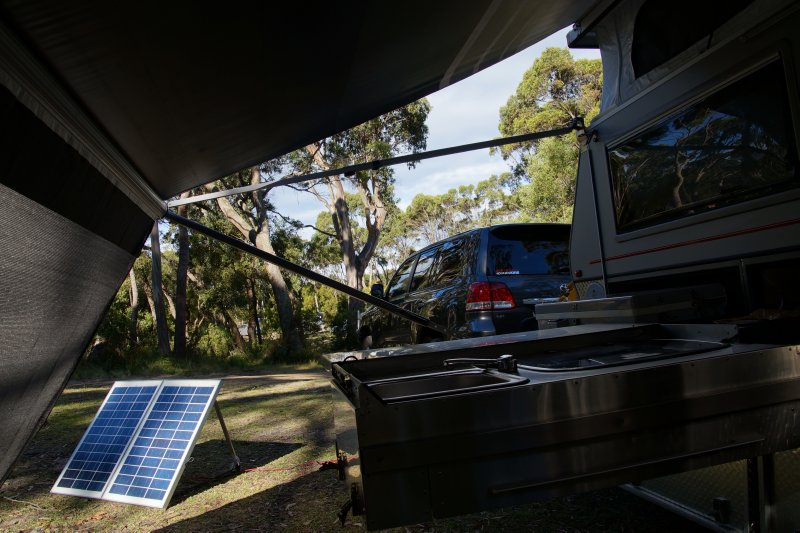 Campground at the Neck