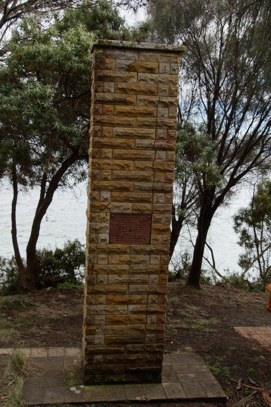 Captain Cook Memorial Adventure Bay South Bruny Island