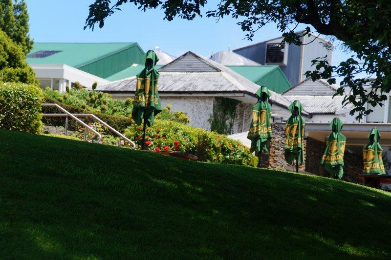 Cascade Brewery Visitor centre gardens