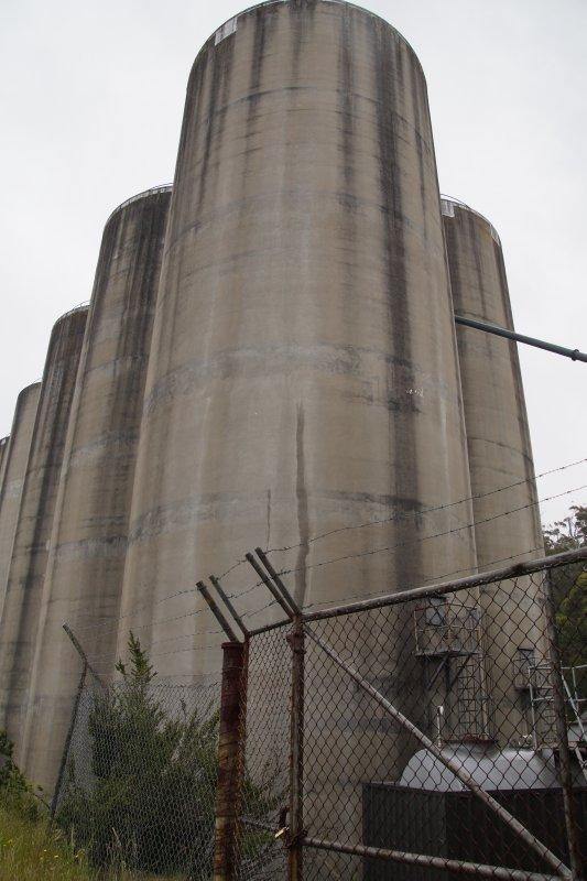 Cascade Brewery Grain silos