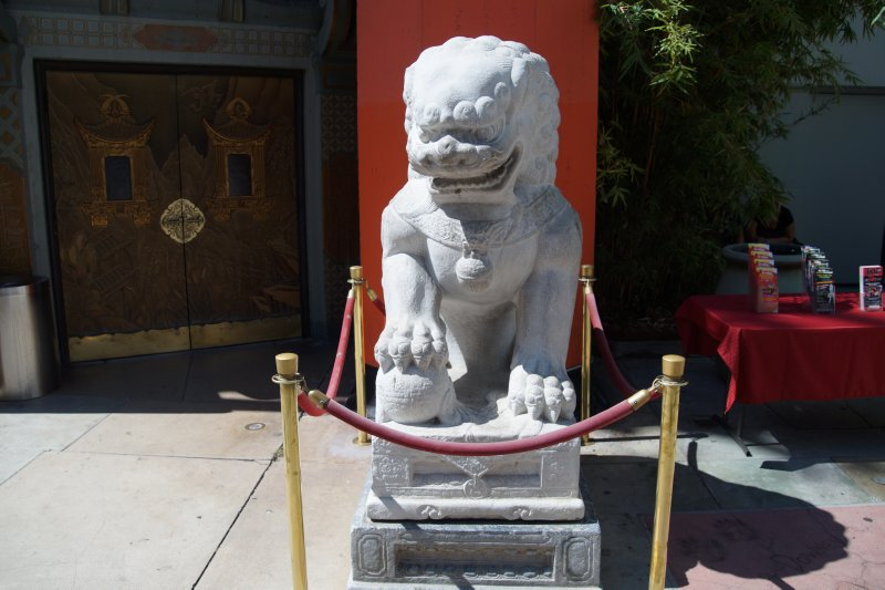Chinese Heaven Dogs from Ming Dynasty