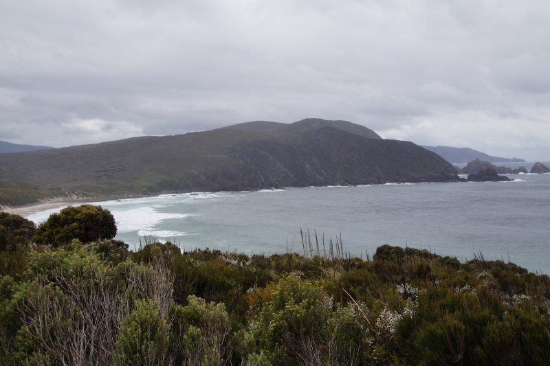 Cloudy Bay from Bruny Island Lighthouse