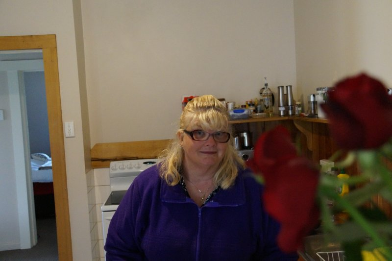 Colleen at home in Paul's kitchen in Launceston (6)