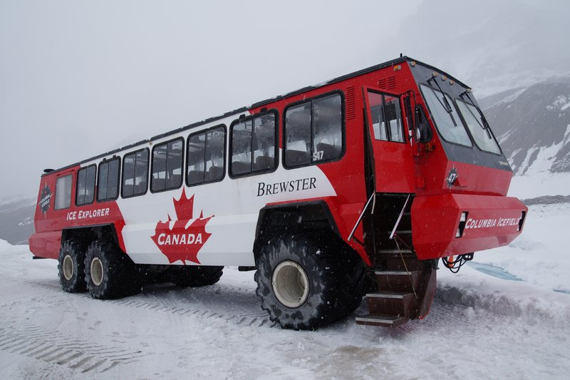 Ice Explorer -20 tonnes, $1 million cost