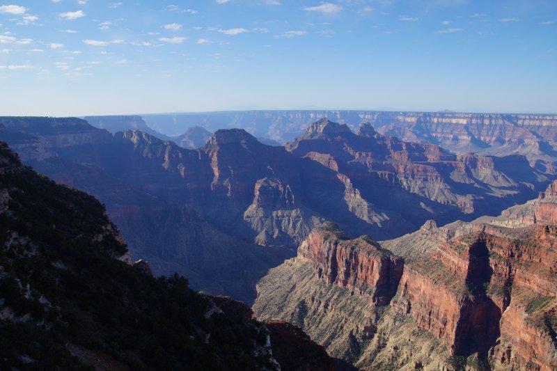 Early morning Grand Canyon, North Rim