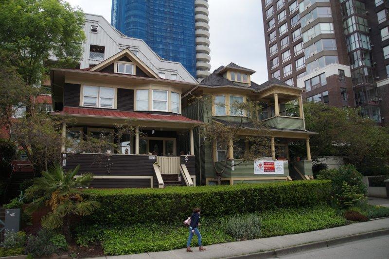 Edwardian style houses Vancouver