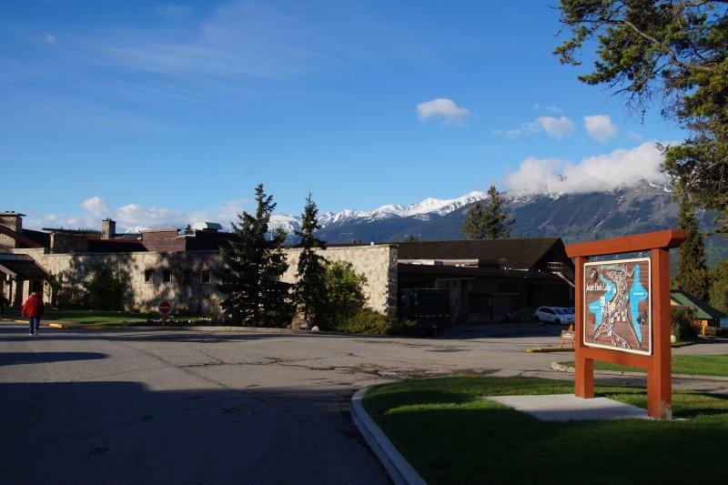 Fairmont Jasper Lodge -  taken at 6.30am