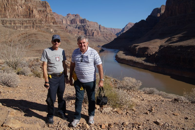 Grand Canyon view - intrepid travellers