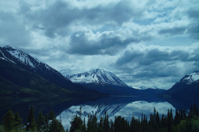 Highway views Carcross to Fraser