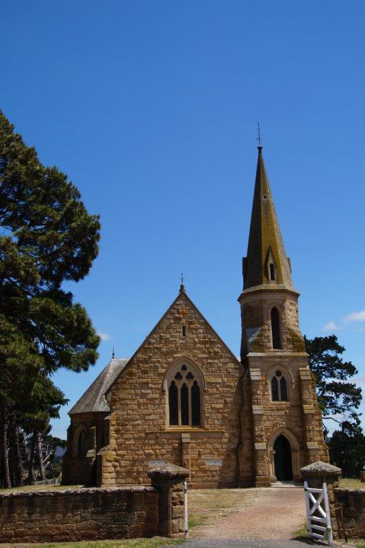 Historic Ross - old church
