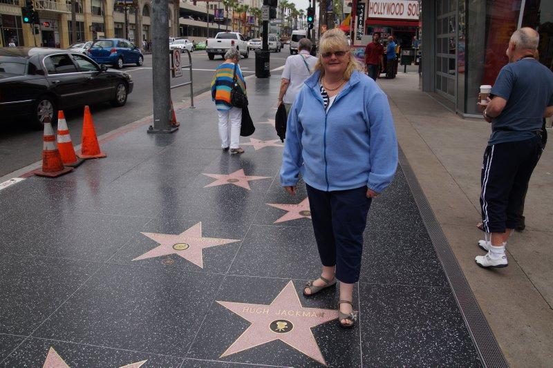 Hollywood Boulevard - Colleen's Favourite - Hugh Jackman