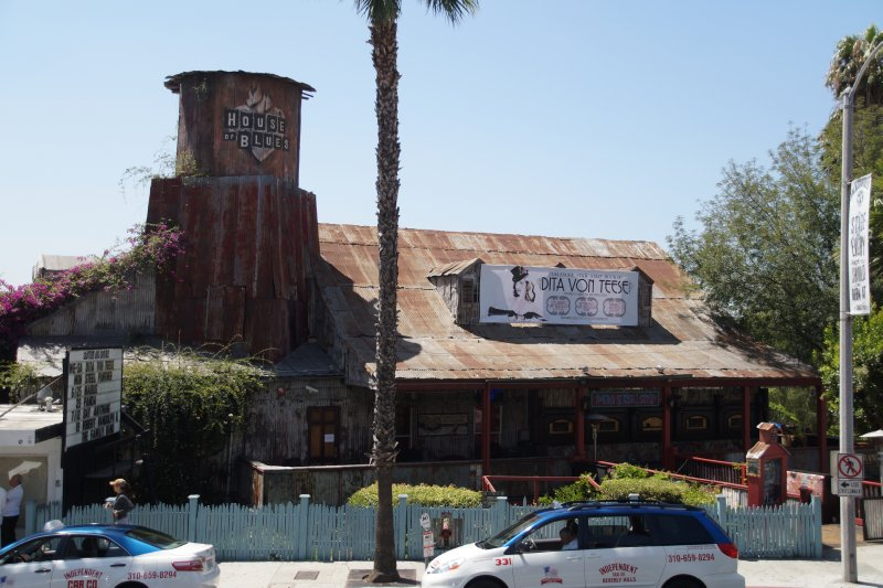House of Blues built by John Belushi
