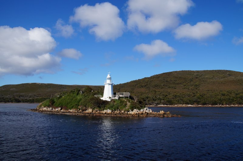Lighthouse at Hell's Gate