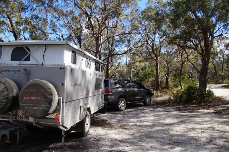 Moulting Bay campsite