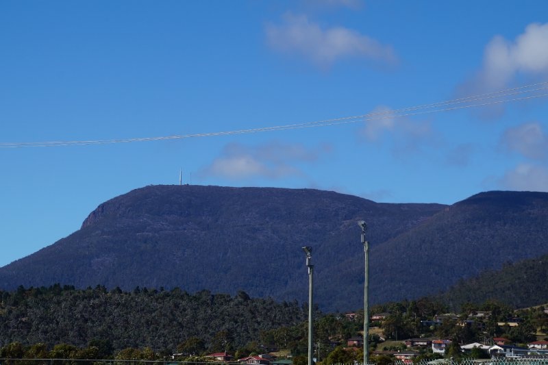 Mt Wellington - view from MONA