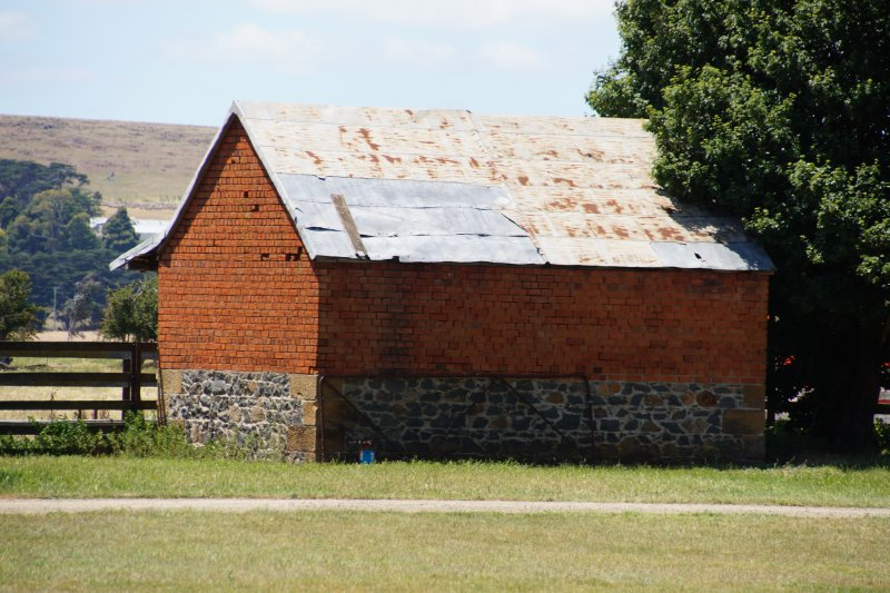 Old buildings at Somercote's Farm near Ross