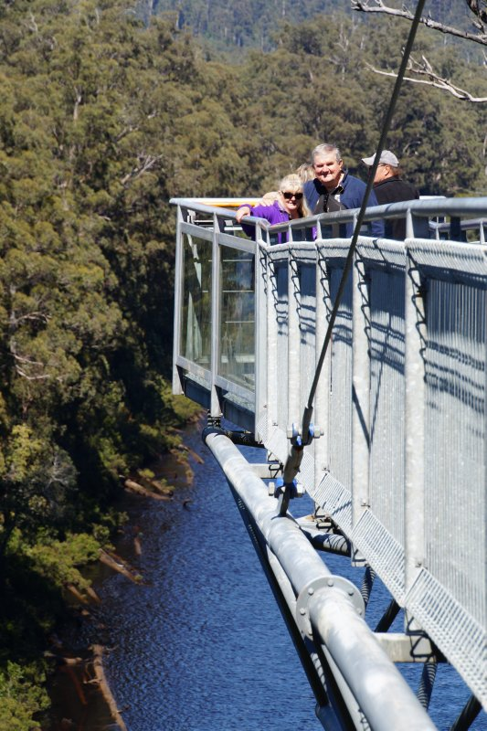 On the cantilever of the Tahune Air Walk