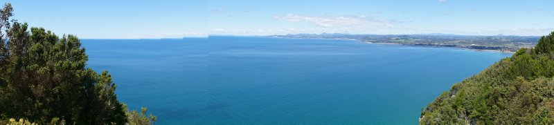 Panorama from Table Cape Lookout