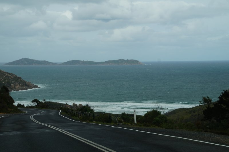 Road view into Wilsons Promontory National Park (6)
