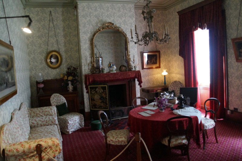 Sitting Room Commandant's House, Port Arthur