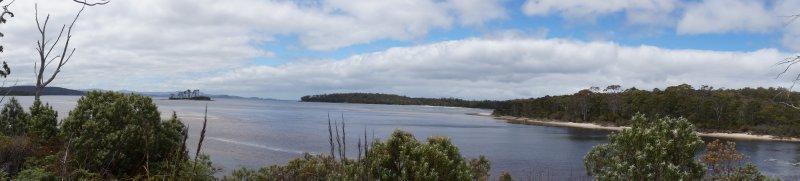 Southport looking towards Bruny Island