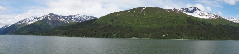 Stephens Passage going to Juneau