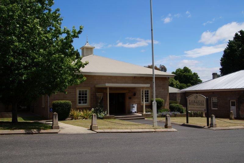 Tasmanian Wool Centre at Ross