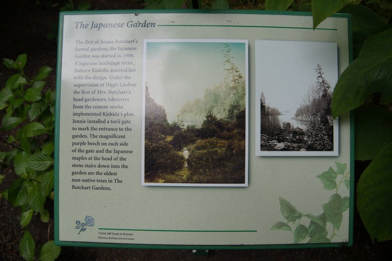 The Japanese Garden at  The Butchart Gardens