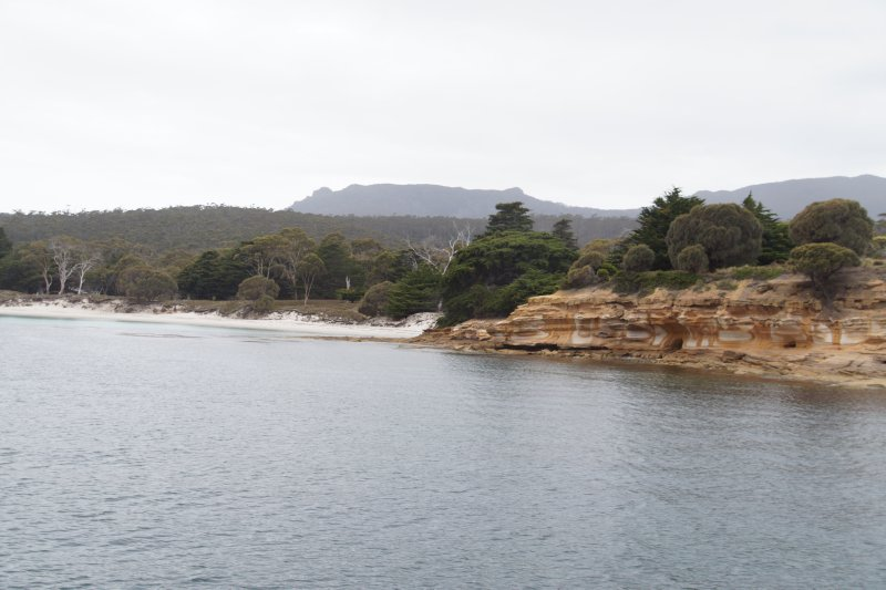 The Painted Cliffs on Maria Island