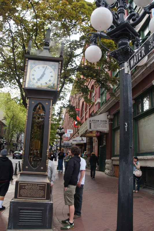 The Steam Clock, Gastown Vancouver