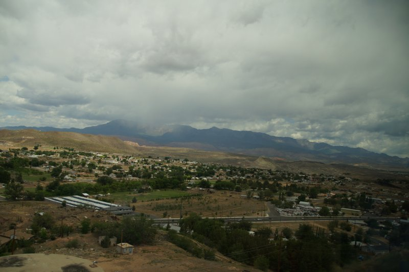 Town of Hurricane on the way to Las Vegas