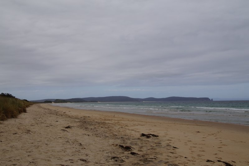 View from The Neck Campground, Bruny Island