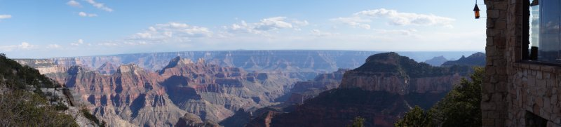 View from The Lodge, North Rim of the Grand Canyon