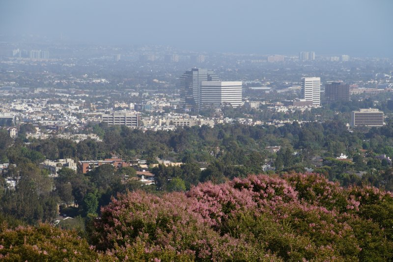 View from Getty Center over LA 3