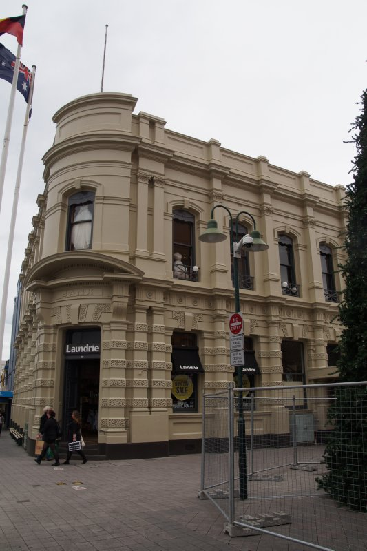 former bank building with new lease of life in Launceston mall