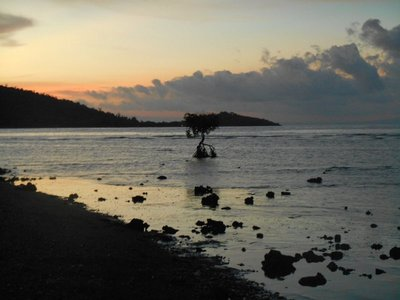 sunset at Permuteran
