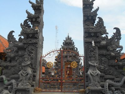 Balinese temple in Lovina