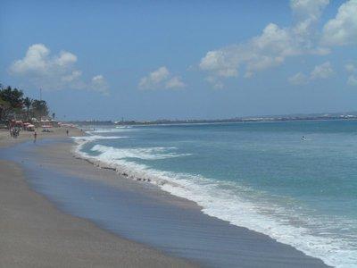 Kuta. Bali an endless beach