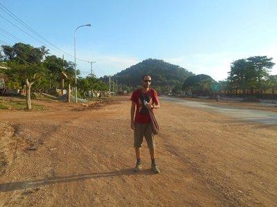 Walking around Kep
