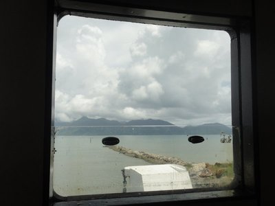 On the ferry to koh chan
