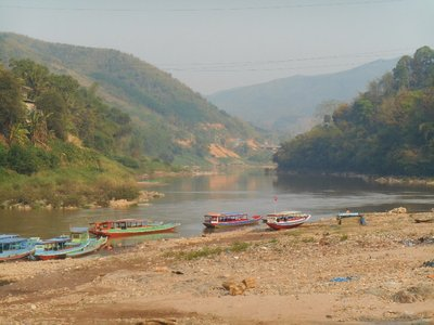 Muang Khua - view to the river