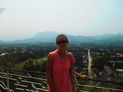 View from the hill, Luang Prabang